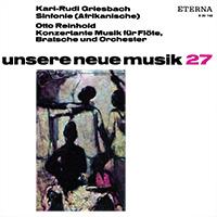 Unsere neue Musik 27 (levyn kansikuva)