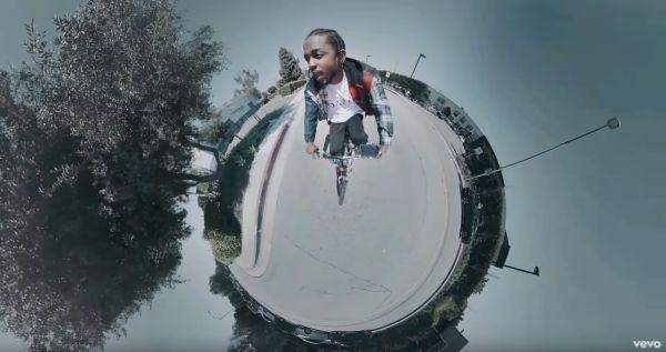 Kendrick Lamar – HUMBLE. (kuvankaappaus musiikkivideosta)