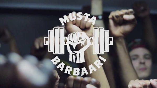 Musta Barbaari – Salil eka salil vika (kuvankaappaus musiikkivideosta)