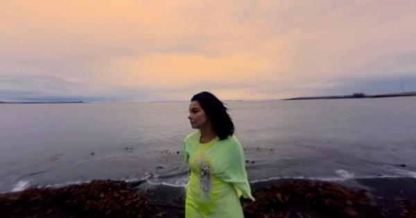 Björk - Stonemilker (kuvankaappaus musiikkivideosta)