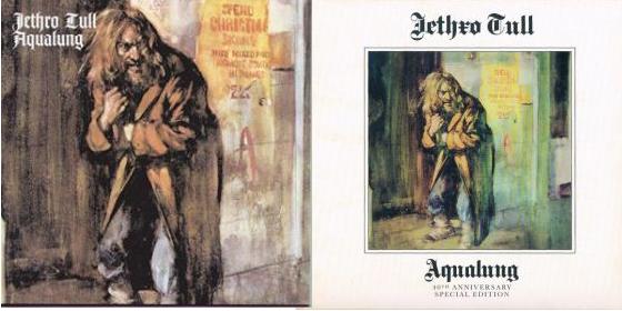 Jethro Tull - Aqualung (alkuperäinen kansi ja 40th Anniversary Edition)