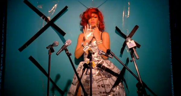Rihanna - S&M (kuvankaappaus musiikkivideosta)